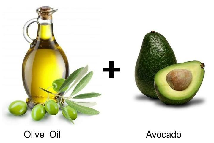 Olive Oil and Avocado Facial Mask