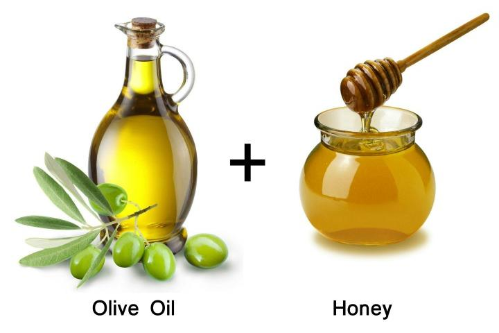 honey and olive oil face mask
