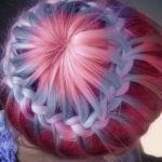 How to do a Starburst Braid