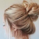 4 Steps to do a Messy Bun with Long Hair