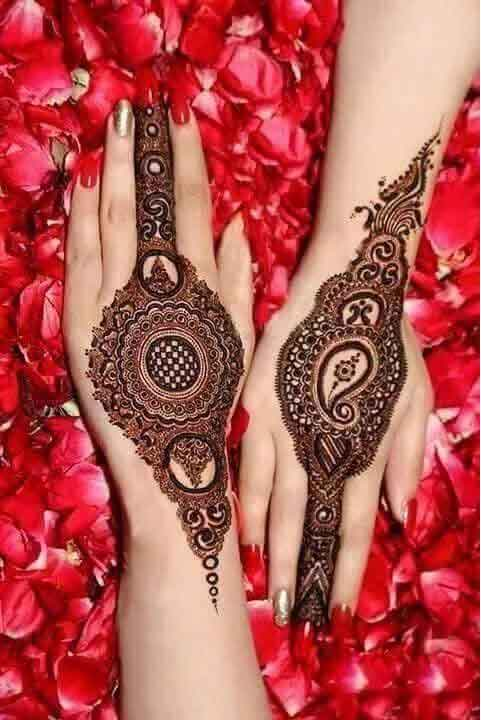 back designed mehndi