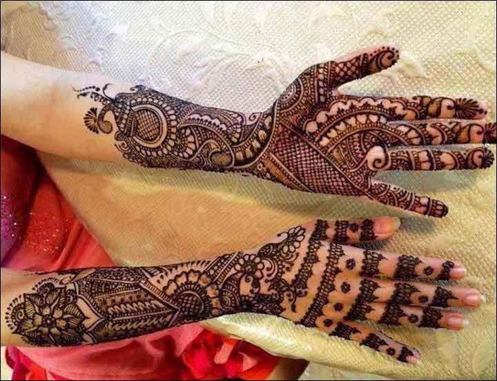 black henna gujarati