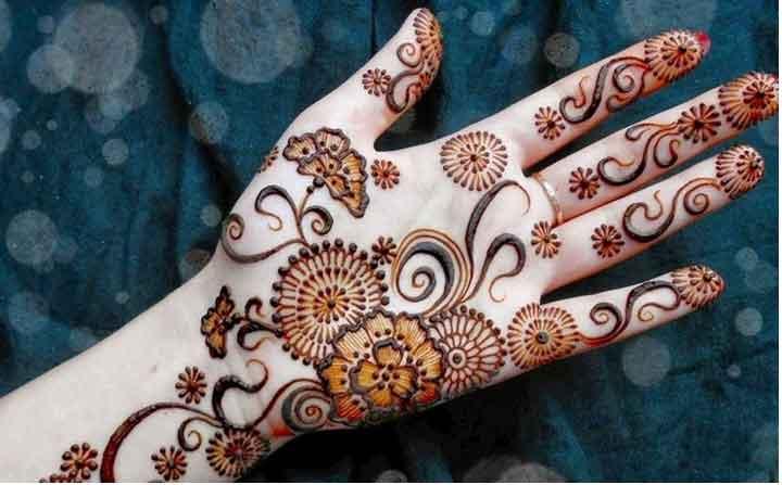Mehndi Design Images : Best marwari mehndi designs for hands & foot