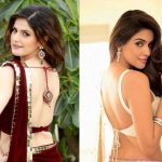 25 Trendy  Backless Blouse Designs For Sensual Appeal