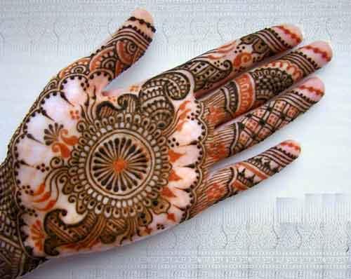 circle Mehndi Designs