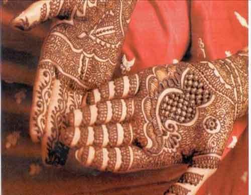complete bridel mehndi design