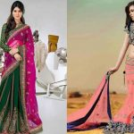 25 Latest Lehenga Sarees with Blouse Designs