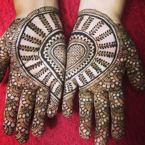 love hand punjabi mehndi
