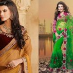 12 Different Types of Blouse Designs For Net Sarees