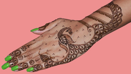 pecock mehndi for punjabi