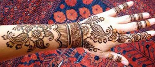 stylish punjabi mehndi