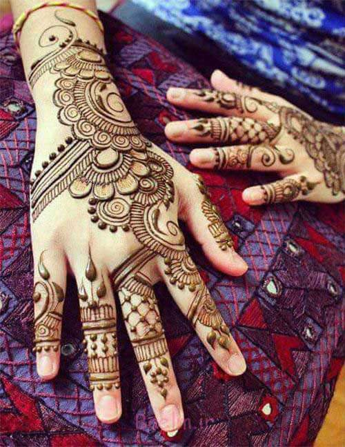 Mehndi For Right Hand Back Side : Beautiful back hand mehndi designs that you can do by
