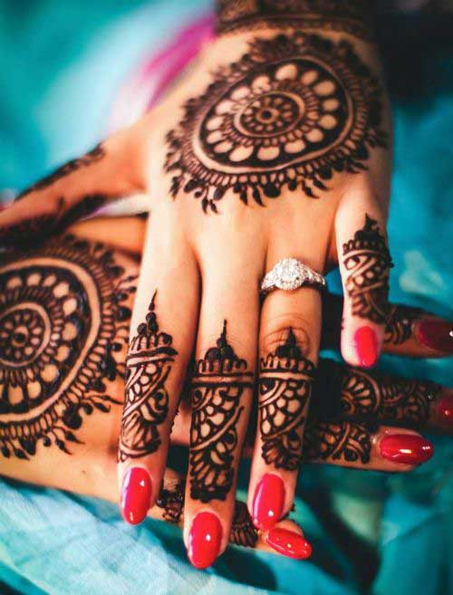 30 Beautiful Back Hand Mehndi Designs That You Can Do By