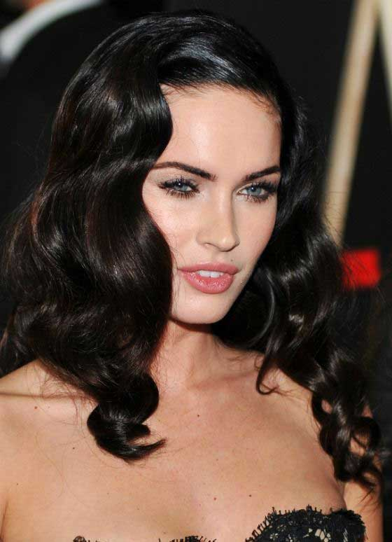megan fox medium length hair