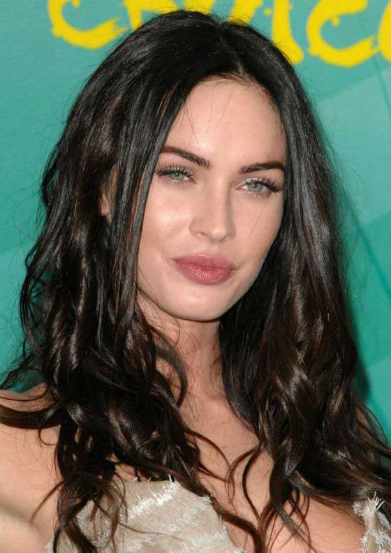 megan fox medium haircut