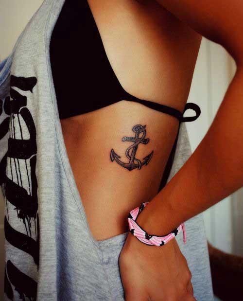 anchor-rib-tattoo