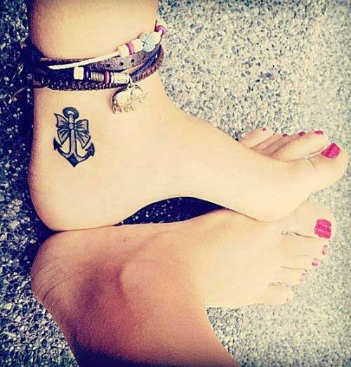 anchor-with-a-bow-tattoo