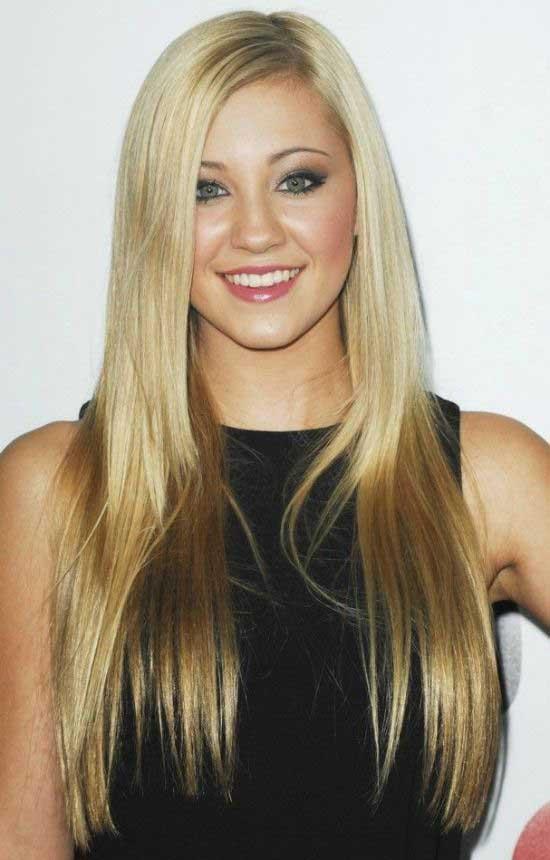 Rachel Mcadams Medium Straight Side Parted Hairstyle