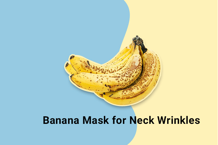 Banana Mask for Neck Wrinkles