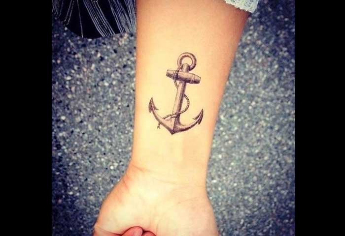 Cool Anchor Tattoo Designs Meanings