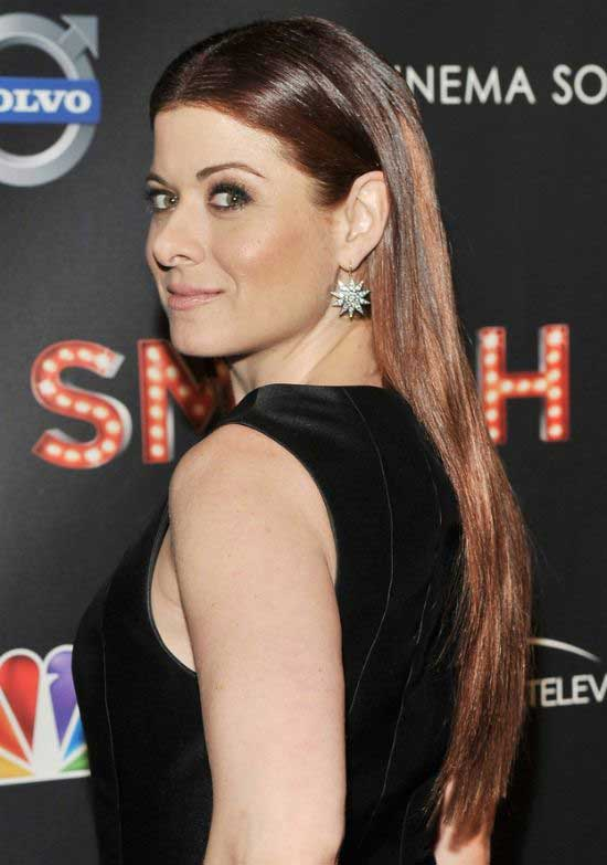 Debra Messing Long  Straight Hairstyle