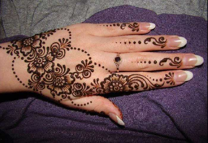 Mehndi Patterns Kids : Top simple and easy beautiful mehndi designs for kids