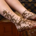 Top 20 Eye Catching Leg Mehndi Designs