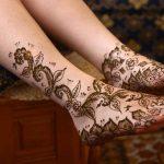 Top 20 Eye Catching Leg Mehndi Designs