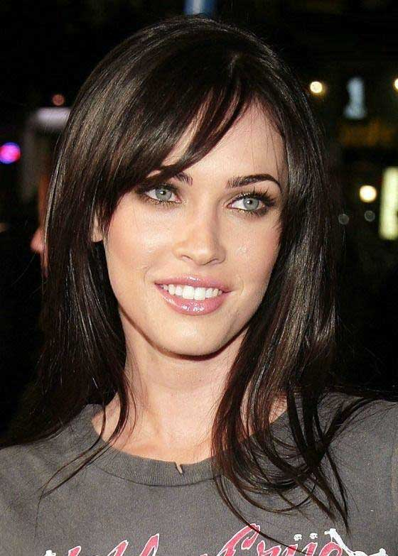 megan fox hairstyle with bangs