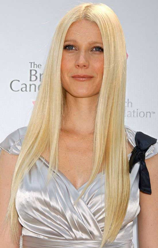 Gwyneth Paltrow Long Straight Hairstyle