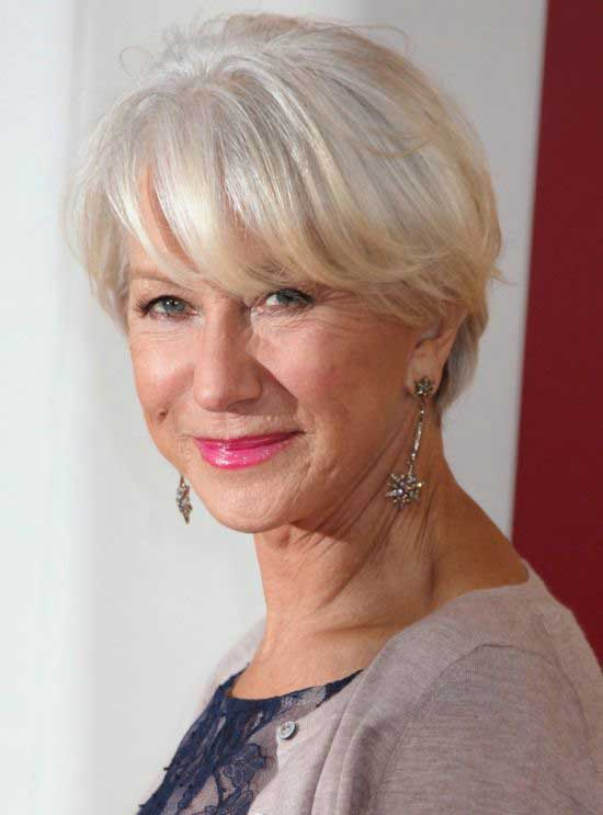25 Stylish Short Hairstyles for Women over 50
