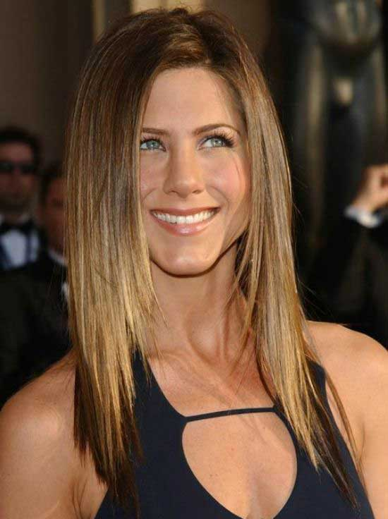 Jennifer Aniston Thick Straight Hairstyle