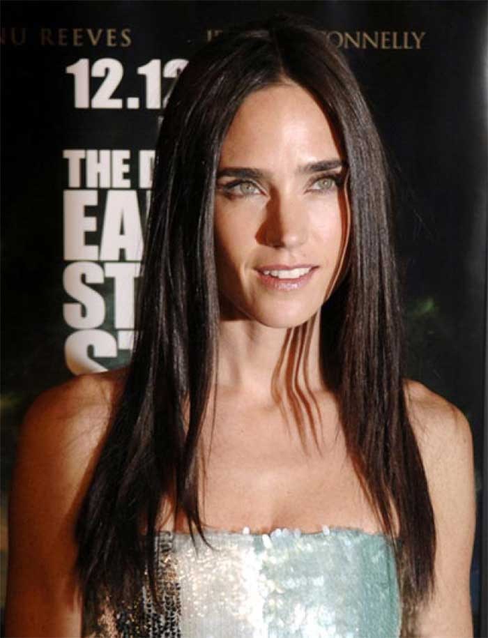 Jennifer Connelly Long Straight Hair