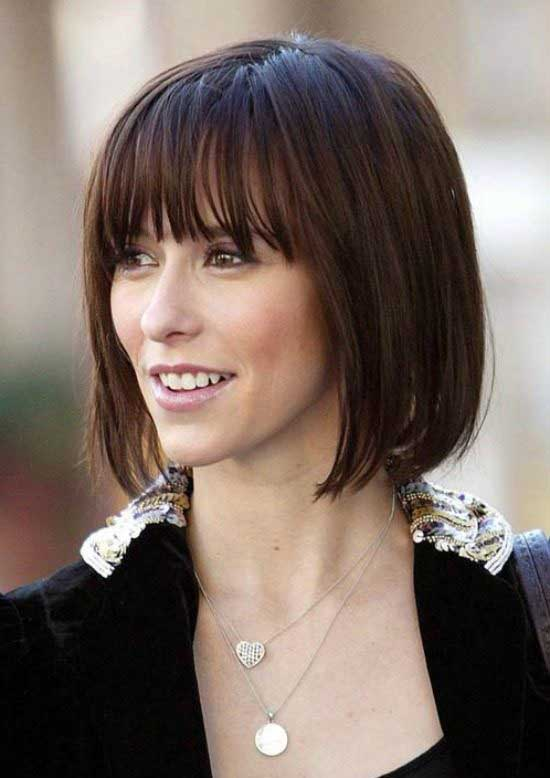 Awesome Bob Haircuts With Bangs Makes You Truly Stylish - Short hairstyle bob cut
