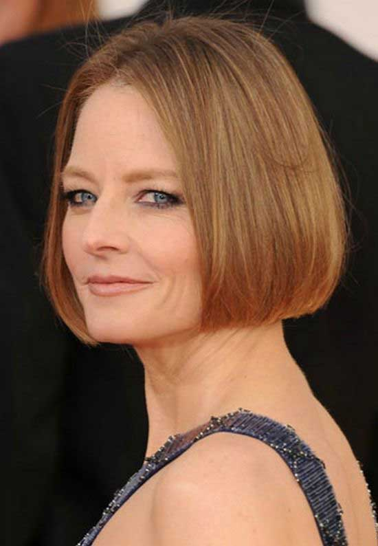 jodie-foster-simple-bob-cut