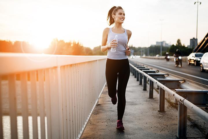jogging for burning calories