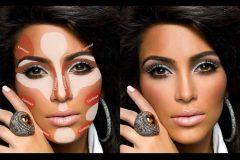 kim-kardashian-contouring-highlighting-e1435500154883