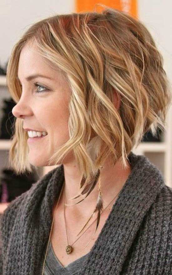 40 gorgeous wavy bob hairstyles to inspire you beauty epic short choppy inverted wavy bob hairstyle urmus Choice Image
