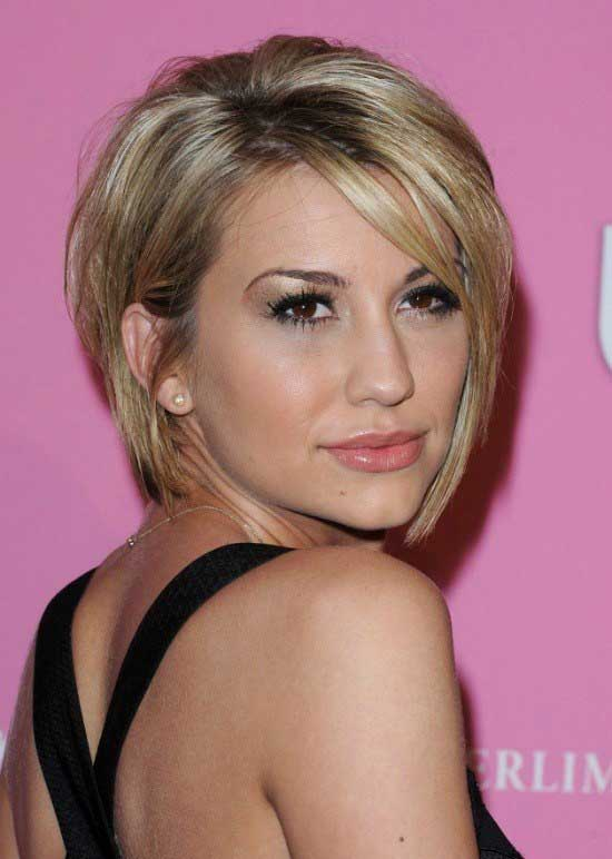 35 awesome bob haircuts with bangs makes you truly stylish short graduated bob with long side swept bangs urmus Gallery