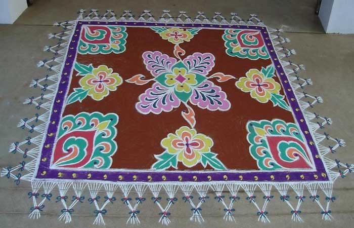 square-rangoli