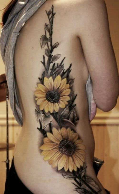 sunflower-on-the-back