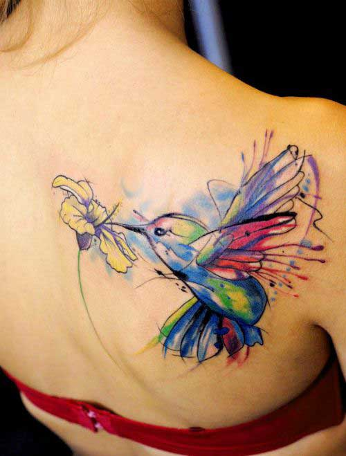 25 Creative amp Beautiful Hummingbird Tattoo Designs And Their Meanings