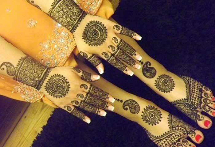 Mehndi Hand Name : Top amazing simple circle mehndi designs and easy