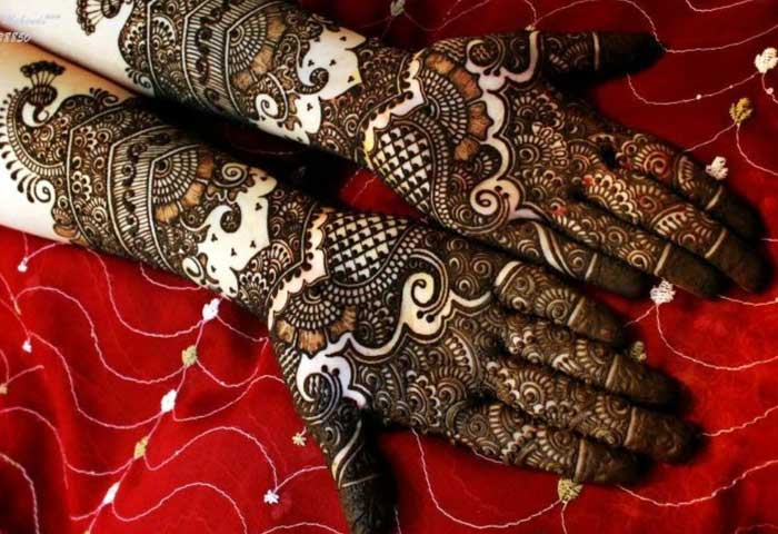 Mehndi Patterns And Designs : Beautiful and stylish punjabi mehndi designs