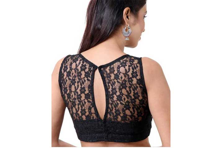 black-net-blouse