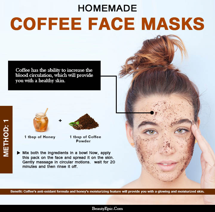 5 Top DIY Coffee Face Masks for Healthy and Gorgeous Skin