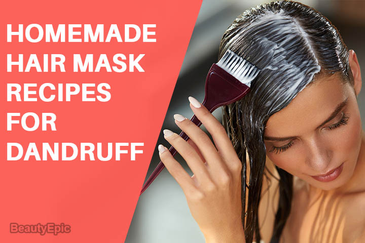 Homemade Hair Masks for Dandruff: Recipes and How to Apply