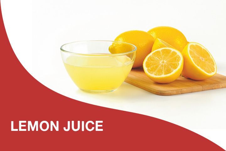 lemon juice for dry itchy scalp