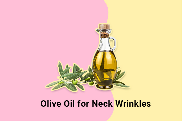 olive oil for neck wrinkles