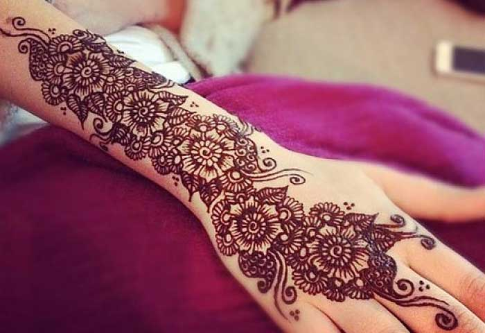 Mehndi Patterns We Heart It : Latest beautiful pakistani mehndi designs